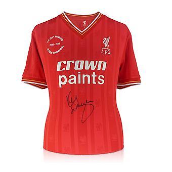 كيني دالغليش وقع ليفربول 1986 قميص