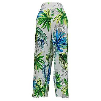 GRAVER Susan Graver Women's Petite Pants GRAVER Liquid Knit Green A377197