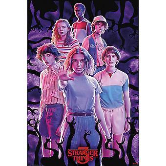 Stranger Things Group Shot Poster