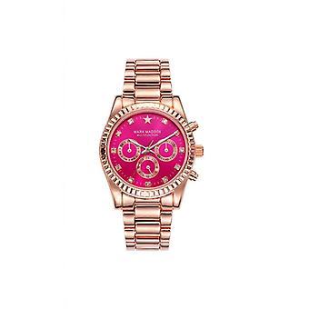 Mark maddox watch pink gold mm3028-77