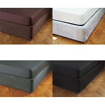 Belledorm Faux Suede Divan Base Wrap (15in)