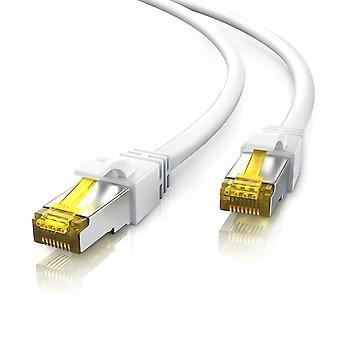 20M Cat 7 Netzwerk Gigabit Ethernet Lan Kabel - 10000 mbit s - Patch-Kabel -Katze. 7 Rohkabel s ftp pi