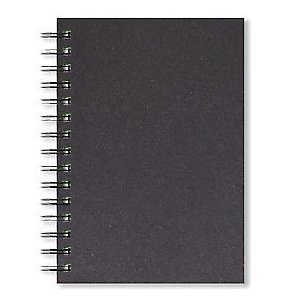 Artgecko stijlvol schetsboek - 80 pagina's (40 vellen) 150gsm zuurvrij wit cartridgepapier (a5 portrai
