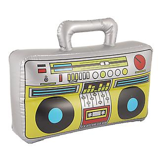 Henbrandt boom box inflatable blow up speaker fancy dress accessory stereo stag party prop 1 multi-c