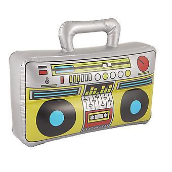Henbrandt boom box gonflable blow up haut-parleur fantaisie accessoire stéréo stag party prop 1 multi-c