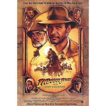 インディ ・ ジョーンズ/最後の聖戦映画ポスター印刷 (27 × 40)