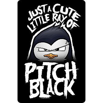 النفسية البطريق لطيف ليتل راي من الملعب لوحة سوداء