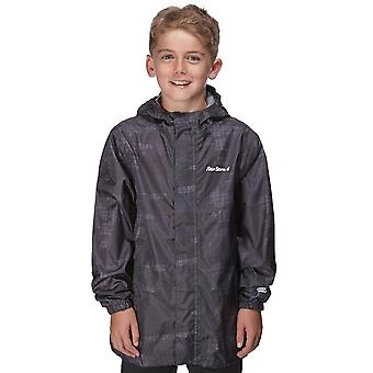 Peter Storm Boy's Camo packable jas grijs