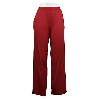 Cuddl Duds Women's Jersey Jogger Pjajama Pant Red A389421