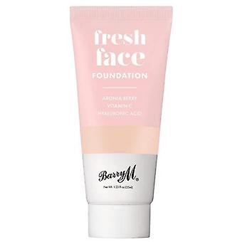 Barry M Fresh Face Liquid Foundation - Shade 3