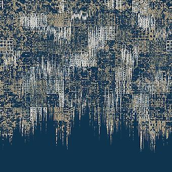 Dywan drukowany Sen o miękkich kolorach 2 Wielokolorowy z poliestru, bawełny, L100xP200 cm