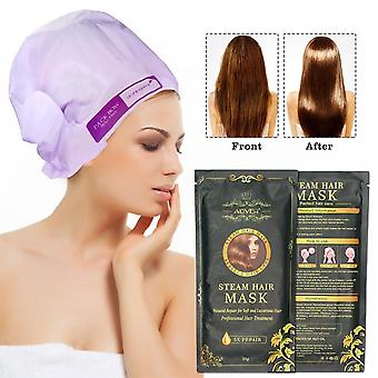 Automatic Repair Heating, Steam Hair Mask, Smoothing Moisturizing Oil For Hair