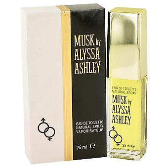 Alyssa Ashley Musk Eau De Toilette Spray By Houbigant 0.85 oz Eau De Toilette Spray