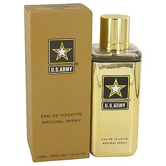 Us Army Gold Eau De Toilette Spray By US Army 3.3 oz Eau De Toilette Spray