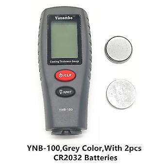 Digitale Mini-Schicht Dicke Messgerät Auto Farbe Dicke Meter Farbe Dicke Tester Dicke Messgerät mit Hintergrundbeleuchtung ynb-100