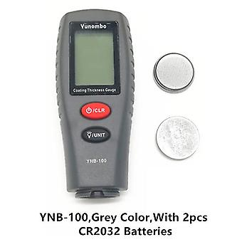 Digital mini coating thickness gauge car paint thickness meter paint thickness tester thickness gauge with backlight ynb-100