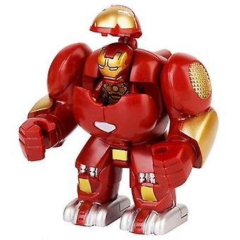 Super Heroes Big Size Iron Man With Gauntlet Hulk Thanos Spider-man Model