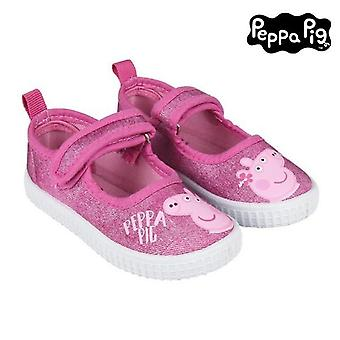 Children's casual trainers peppa pig pink
