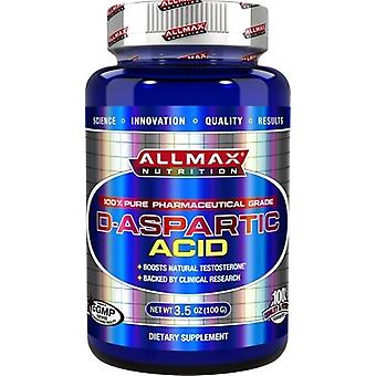 AllMax Nutrition D-Aspartic Acid 100 gr