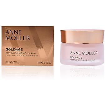 Anne Möller Crème de nuit restructurante Goldâge 50 ml