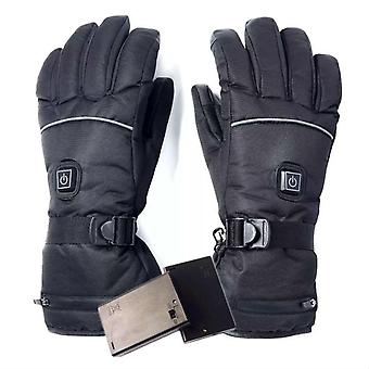Electric Heated Gloves With Temperature Adjustment Lithium Batteries Gloves