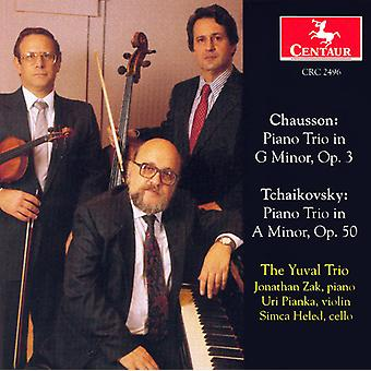 Chausson/Tchaikovsky - Chausson: Piano Trio, Op. 3; Tchaikovsky: Piano Trio, Op. 50 [CD] USA import