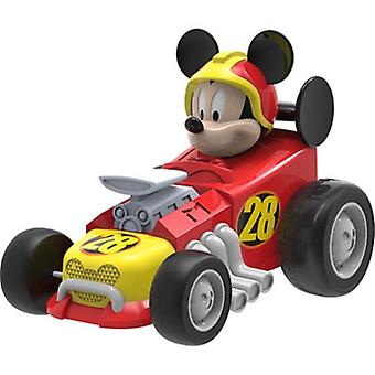 Genuine Disney toy set toy Mickey Minnie rolling action character animation model(Red)