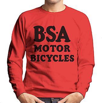BSA Motor Bicycles Men's Sweatshirt