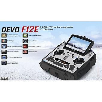 Devo F12E 2,4 Ghz 12 ch FPV 5, 8Ghz, jasny ekran