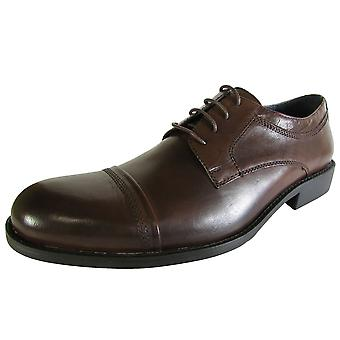 Steve Madden Mens Minted Läder Oxford Sko