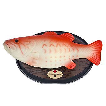 Şarkı Somon Şarkı Dayak Plastik Balık Yenilik Spoof Cadılar Bayramı Elektrikli Oyuncak