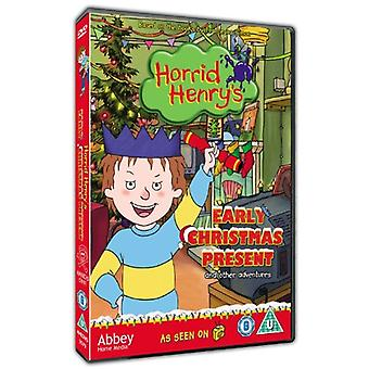 Horrid Henry and the Early Christmas Present DVD