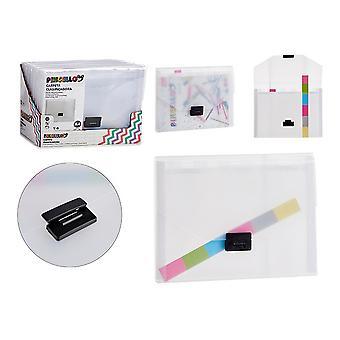 Gjennomsiktig dokumentholdermappe (1,5 x 25 x 33 cm)