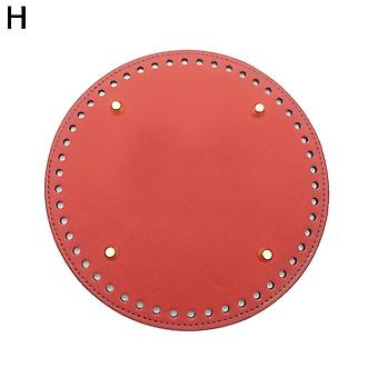Round Bottom Shaper, Rivets Bag, Crocheting Hand-woven, Diy For Hand-made