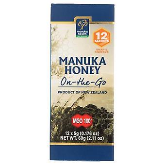 Manuka Health Manuka Honey On-The Go MGO 100+, 2.11 Oz