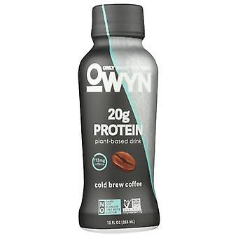 Owyn نباتي البروتين يهز كوفي، حالة من 12 × 12 أوقية
