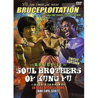 Bruce Li Soul Brothers Of Kung Fu Movie Dvd -Vd7485A