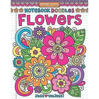 Notebook Doodles Flowers Coloring  Activity Book Design Originals 30 Inspiring Floral Designs BeginnerFriendly Creative Art Activities for Tweens on HighQuality ExtraThick Perforated Paper 6