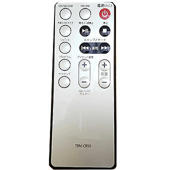 Ny fjernkontroll egnet for Toshiba sound system player controller TRM-CR50