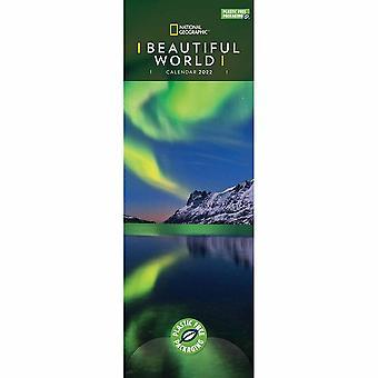 Otter House Beautiful World Nat Geo (pfp) Slim Kalender 2022