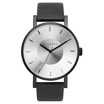 Klasse14 Volare Black 42mm Black Leather Strap VO14BK001M Watch