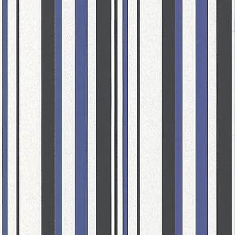 Erismann Emma Atkins Mode texturer Rand Blå Tapeter 9602-08