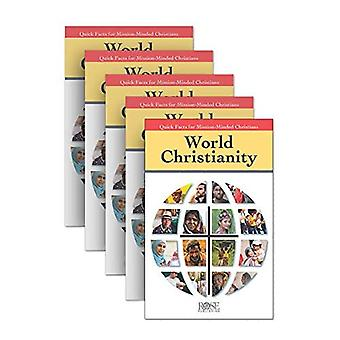 5-Pack: World Christianity: Quick Facts for Mission-Minded Christians