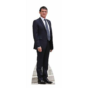 Manuel Valls Lifesize Cardboard Cutout / Standee / Stand Up
