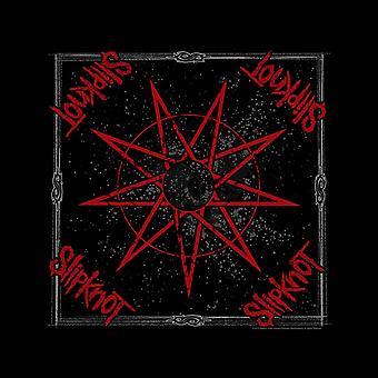 Bandana unisexe Slipknot : étoile à neuf branches