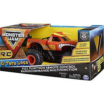 Monster Jam RC Remote Control Toro Loco 1:24 Scale