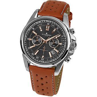 Jacques Lemans Brown Genuine Leather 1-1117.1WP Reloj de Hombre
