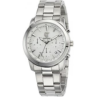 ONE (Eco Tech Time) Silver Stainless Steel EGS-12076-11M Men's Watch