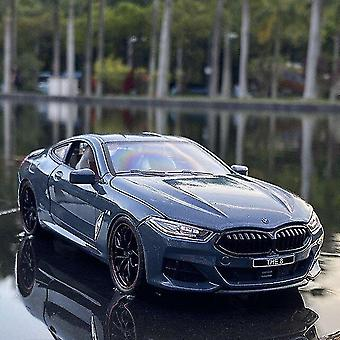 Toy cars 1:24 bmw m8 alloy car model diecasts toy vehicles toy car model collection sound and light