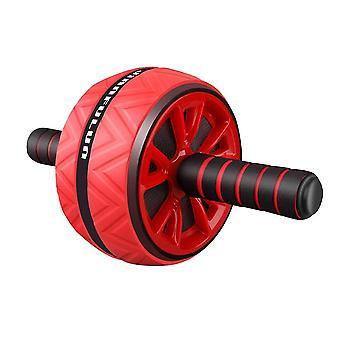 Rullo ruota antiscivolo moderno antiscivolo di alta qualità per fitness e allenamento (Rosso B)